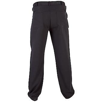 Герцог Лондон Мужская двуспальной Бек Bi стрейч D555 пять карман брюки
