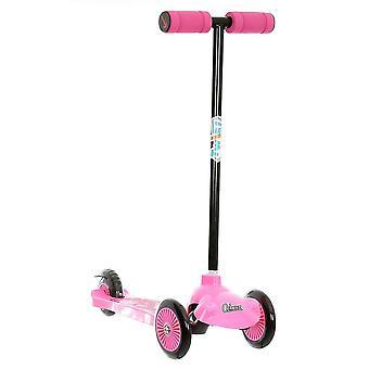 Ozbozz Trail Twist scooter rosa y negro