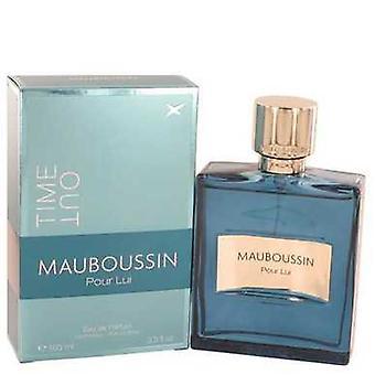 Mauboussin Pour Lui Time Out By Mauboussin Eau De Parfum Spray 3.4 Oz (men) V728-532870