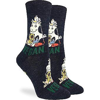 Socks - Good Luck Sock - Women's Crew Socks - Vegan (5-9) 3230