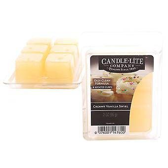 Candle-Lite Wax Melt Packs For Use with Melt Tart & Oil Burners Creamy Vanilla Swirl