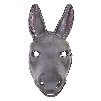 Bristol Novelty Unisex Adults Plastic Donkey Mask