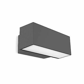 LED luce esterna grande Wall Washer luce urbano grigio IP65