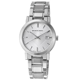 Burberry Bu9000 Gents silver Tone stål arm band Watch