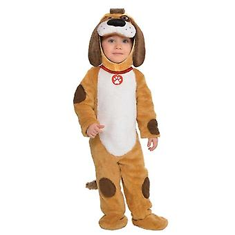Toddlers Playful Pup Fancy Dress Costume