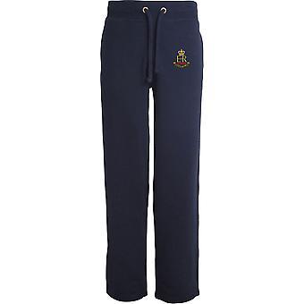Militar Provost corpo de funcionários veterano-licenciado British Army bordados aberto hem Sweatpants/jogging Bottoms