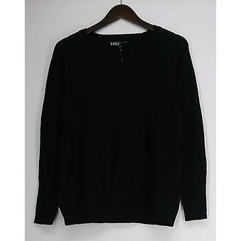 Edge by Jen Rade Sweater Waffle Stitch Black A256532