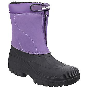 Cotswold Womens Venture Waterproof Winter Boot Purple