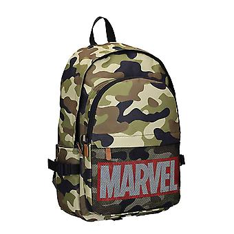 Marvel Backpack Bag Classic Comics Logo Retro Dedication new Official Black