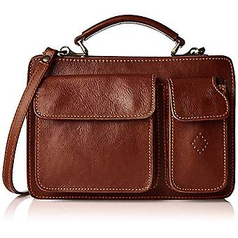 All-Fashion Chicca Cbc18213gf22 Unisex Adult Brown handbag 9x20x28 cm (W x H x L)
