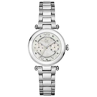 gc- ladychic Swiss Quartz Analog Woman Watch with Stainless Steel Bracelet Y06003L1