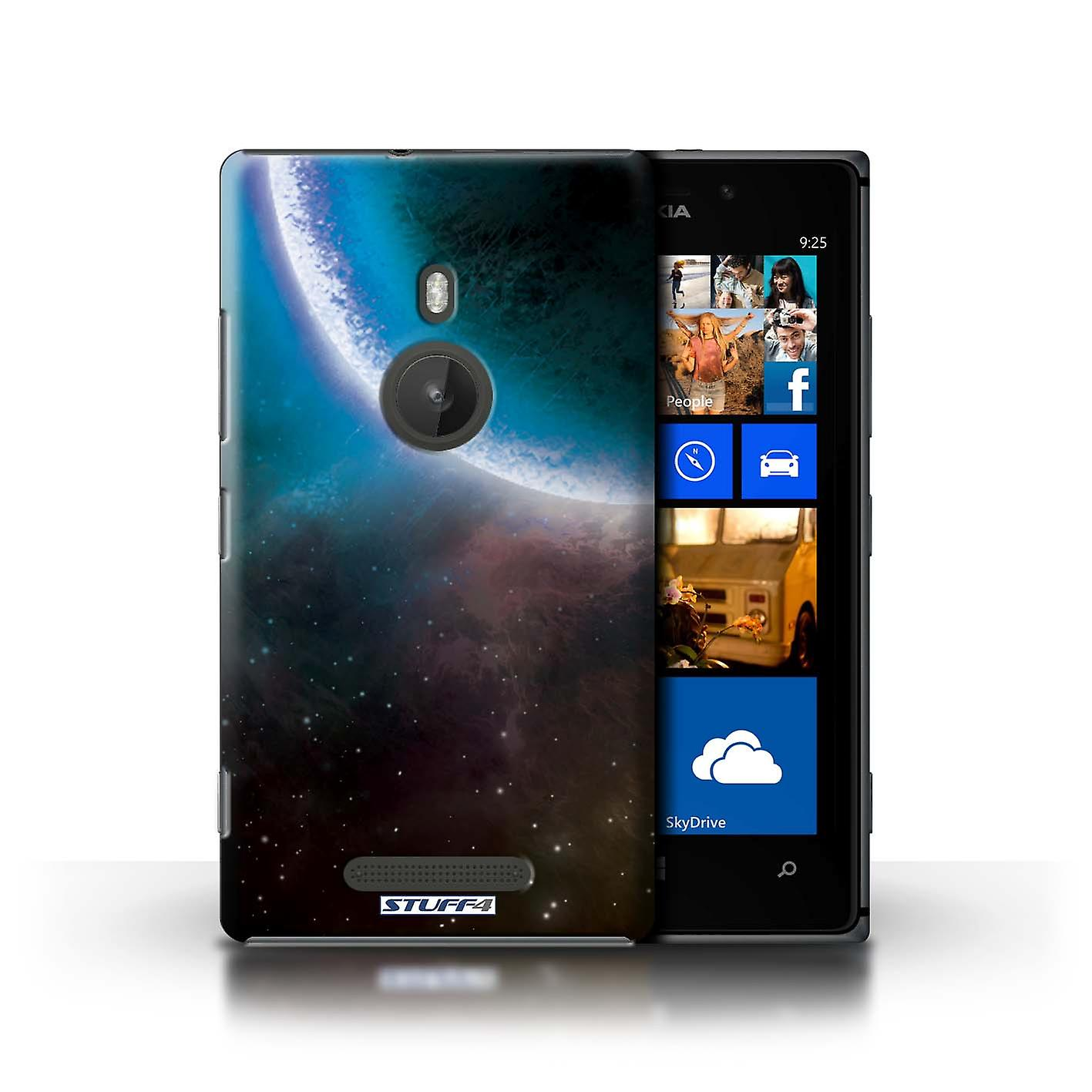 STUFF4 Case/Cover for Nokia Lumia 925/Blue Eclipse/Space/Cosmos