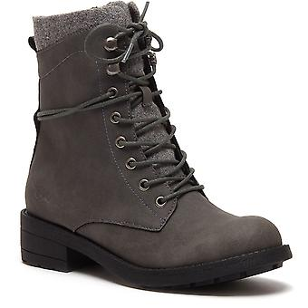 Rocket Dog Womens Tayte Lace Up Boot Grey
