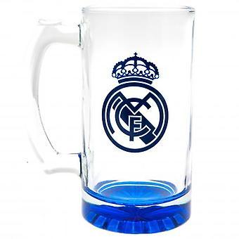 Real Madrid Stein Glass Tankard CC