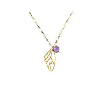 Gemshine Necklace with Donna vermeil pendant - Cal4ao