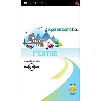 Pass till Rom (PSP)-nytt