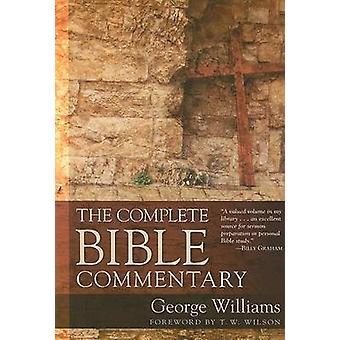 The Complete Bible Commentary by George Williams - 9780825441042 Book