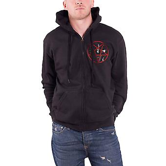 Emperor Rider 2014 Official Mens New Black Zipped Hoodie