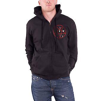 Keizer Rider 2014 officiële mens nieuwe zwarte zipped hoodie