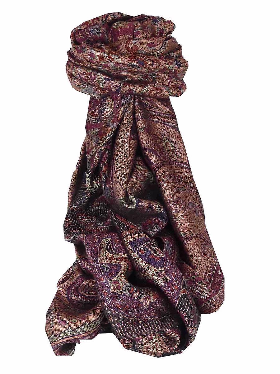 Mens Jamawar Premium Silk Scarf Pattern 3589 by Pashmina & Silk