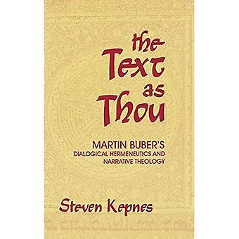 Texten som du: Martin Bubers dialogiska Hermeneutik och narrativ teologi