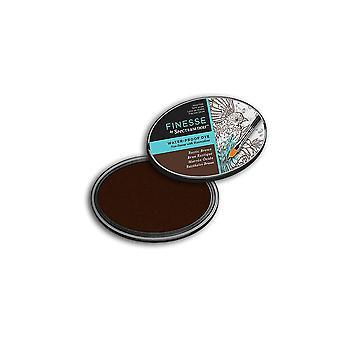 Finesse by Spectrum Noir Water Proof Dye Inkpad - Rustic Brown