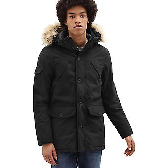 Timberland Scar Ridge Downfree Parka Coat Black 09