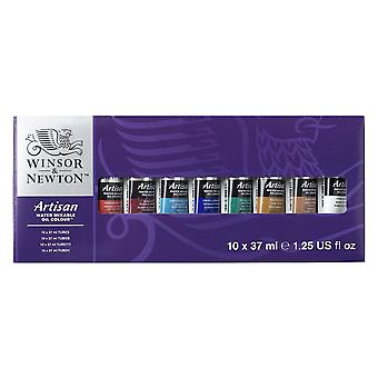 Winsor & Newton Artisan vettä Sekotettavissa oleva öljy sarja 10 x 37ml