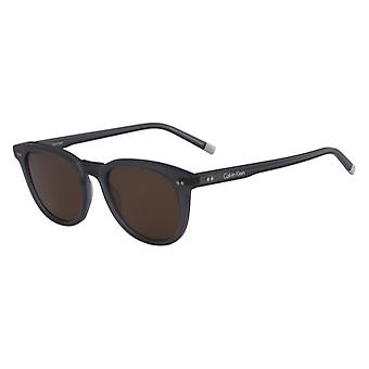 Calvin Klein CK4358S 063 Matte Grey/Brown Sunglasses