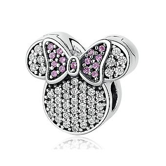 Charm in argento Sterling Minnie mouse