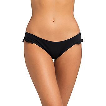 Rip Curl Siren Swim Good Pant Bikini Bottoms in Black