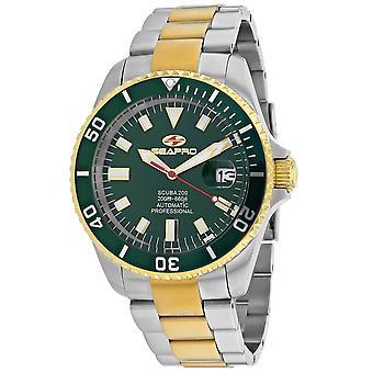 Seapro Men's Scuba 200 Green Dial Watch - SP4325