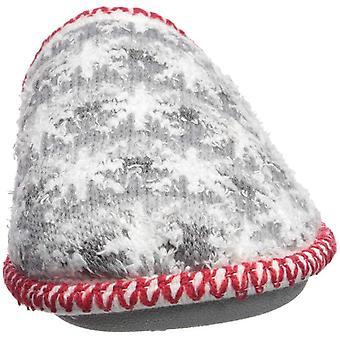 Dearfoams Kid ' s familie plan Stripe Knit klomp slipper