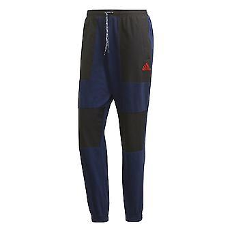 2019-2020 Arsenal Adidas Fleece Joggers (Navy)