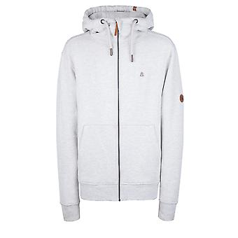 AlifeandKickin Sporty Mäns Sweatjacket Trasher med Hood Color Cloudy Size L - XXL