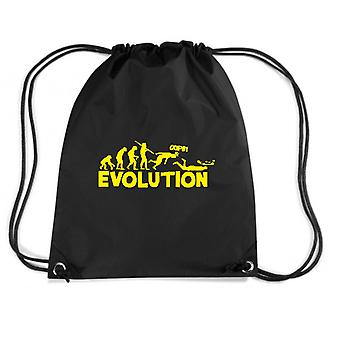 Black backpack evo0012 evolution humor