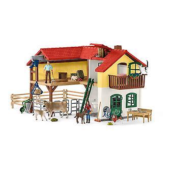 Schleich Farm World 42407 suuri maatila talo lelu (42407)