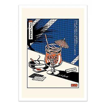 Art-Poster - Cocktail - Paiheme studio 50 x 70 cm