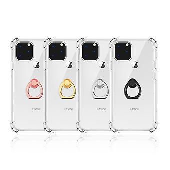 Transparent Ring Holder Case for iPhone 11 Pro Max