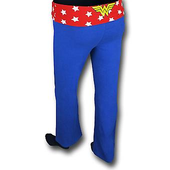 Wonder Woman vrouwen ' s blauwe yoga broek