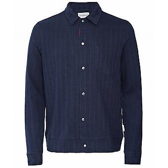 Oliver Spencer Jersey Striped Rundell Jacket