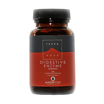 Terranova Probiotic - Digestive Enzyme Complex 100 Vegetarian Capsules