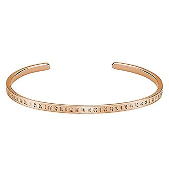 Love baby Berlin ? Women's bracelet in stainless steel Satin 5.8 cm ? LJ 0016 B 58