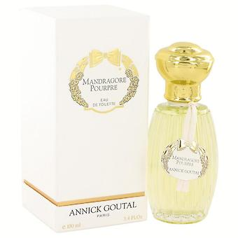 Mandragore pourpre eau de toilette spray by annick goutal 518300 100 ml