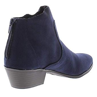 Style & Co. Womens Winie Faux Suede Ankle Booties