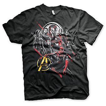 Vendicatori Iron Man Capitan America Spiderman T-Shirt Ufficiale