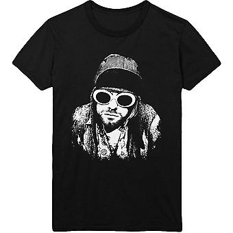 Kurt Cobain Nirvana Glasses Pose T-Shirt officiel