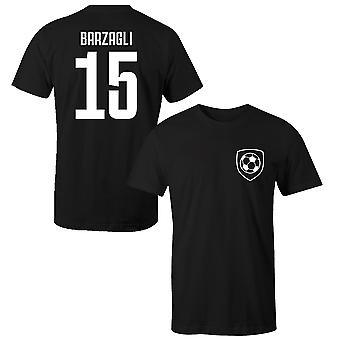 Andrea Barzagli 15 Juventus Style Player Kids T-Shirt
