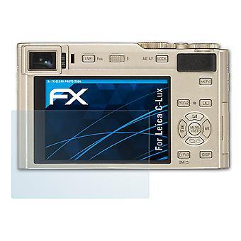 atFoliX Pellicola Vetro compatibile con Leica C-Lux 9H Armatura di protezione
