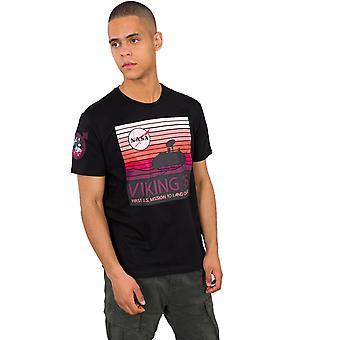 Alpha Industries Herren T-Shirt Viking 76